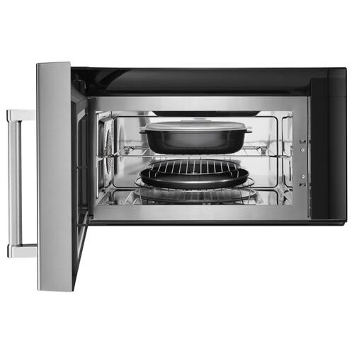 "30"" 1000-Watt Microwave Hood Combination with Convection Cooking - PrintShield Stainless"