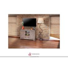 "55"" TV Stand w/2 doors, 1 drawer & 2 Shelves"