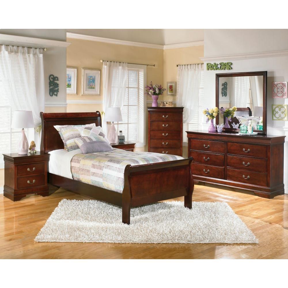 Alisdair Twin Sleigh Bed