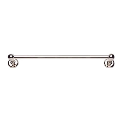 Emma Bath Towel Bar 24 Inch Single - Polished Nickel
