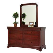 See Details - Louis Phillipe Dresser- Mirror