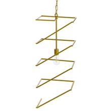 See Details - INDRA PENDANT- GOLD  Painted Gold Finished Metal