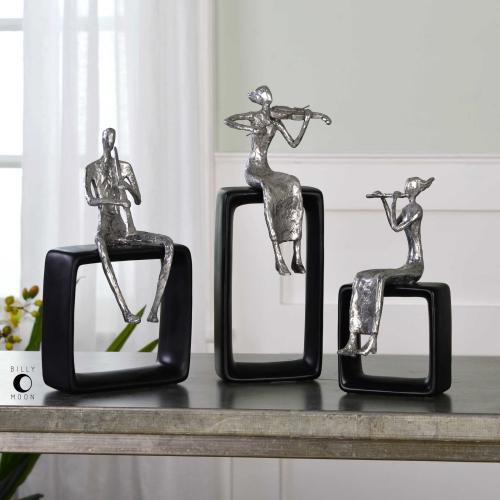 Musical Ensemble Figurines, S/3