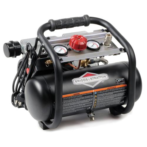 Briggs and Stratton - 1.8 Gallon Air Compressor - with Quiet Power Technology™