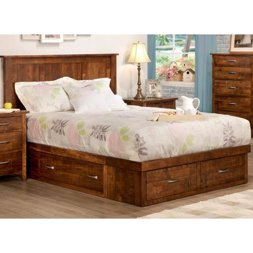 Handstone - Glengarry 4 Drawer King Condo Bed (2 on end/1 each side)
