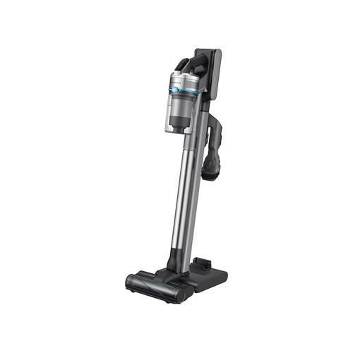 Samsung - Jet VS90E Stick Vacuum with Turbo Action brush in Aqua ChroMetal with removable Battery