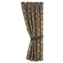 Loretta Rustic Rod Pocket Curtain Panel