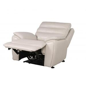 Duval Dual-Power Recliner, Ivory