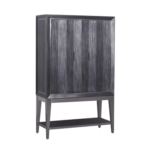 Echo Door Chest Deck in Charcoal