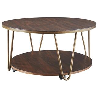 Lettori Round Cocktail Table