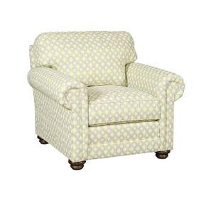 Winston Fabric Chair, Winston Fabric Ottoman