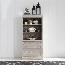 2 Piece Hutch & Cabinet Set