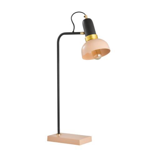 Juku Blush/Grey Table Lamp