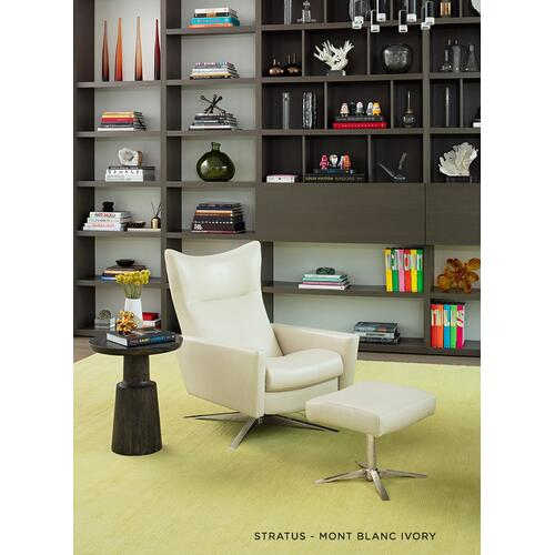 Stratus Modern Swivel Recliner - American Leather