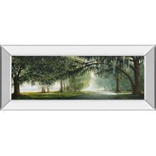 """Lake Shore Drive"" By Bruce Nawrocke Mirrored Framed Print Wall Art"