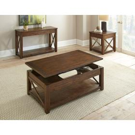 Lenka Lift Top Cocktail Tablew/Casters
