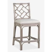 Hampton Chippendale Counterstool - Grey Wash