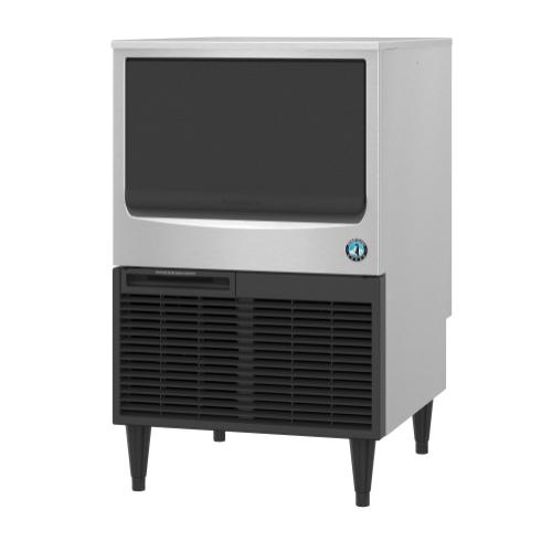 KM-116BAJ, Crescent Cuber Icemaker, Air-cooled, Built in Storage Bin