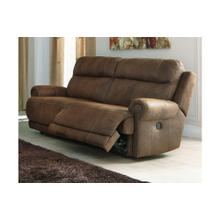 Austere 2 Seat Reclining Power Sofa Brown