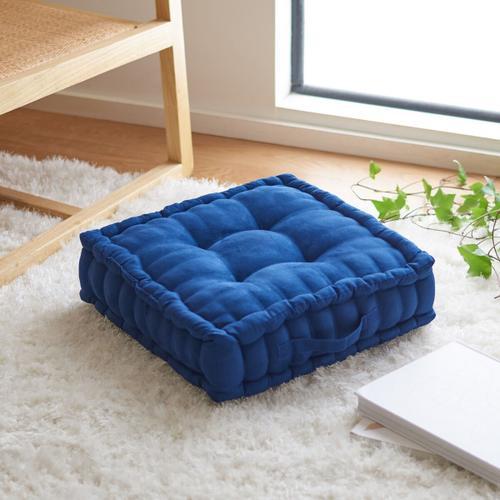 Gardenia Floor Pillow - Navy