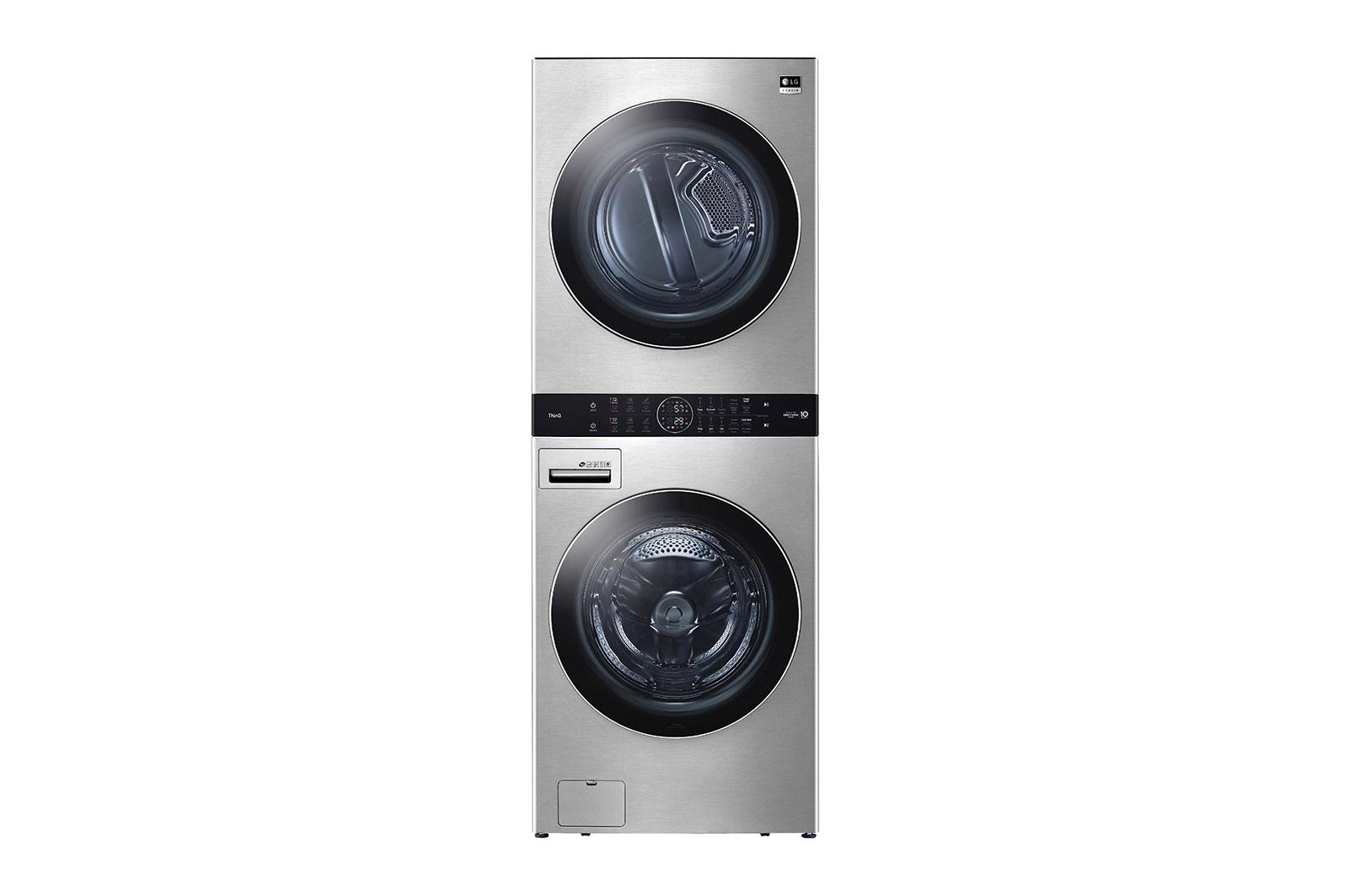 LG AppliancesLg Studio Single Unit Front Load Washtower™ With Center Control™ 5.0 Cu. Ft. Washer And 7.4 Cu. Ft. Electric Dryer