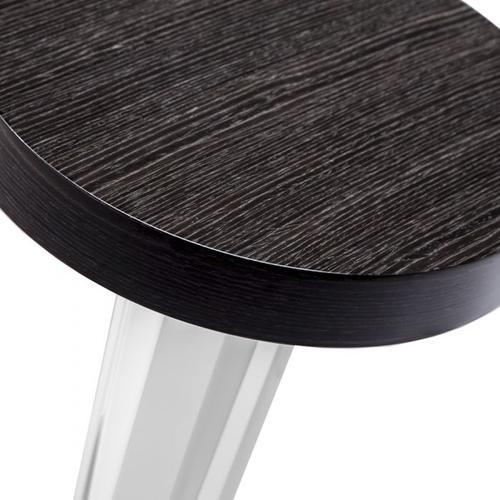 Liora Drink Table - Smoked Grey Oak