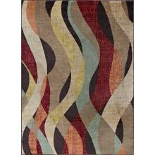 Deco - DCO1013 Brown Rug (Multiple sizes available)