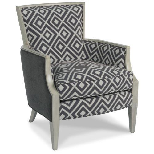 Sam Moore Furniture - Living Room Nadia Exposed Wood Chair