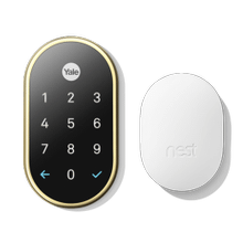 Nest X Yale Lock With Nest Connect Polished Brass