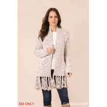 Heathered Cardigan - S/M (4 pc. ppk.)