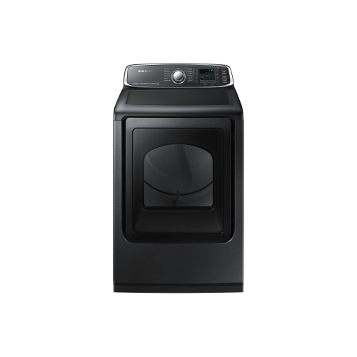 7.4 Cu.Ft. Electric Dryer with Steam Sanitize+ in Black Stainless Steel
