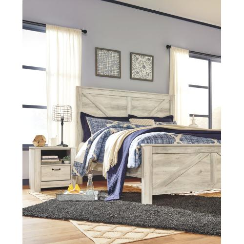 Bellaby King Crossbuck Panel Bed