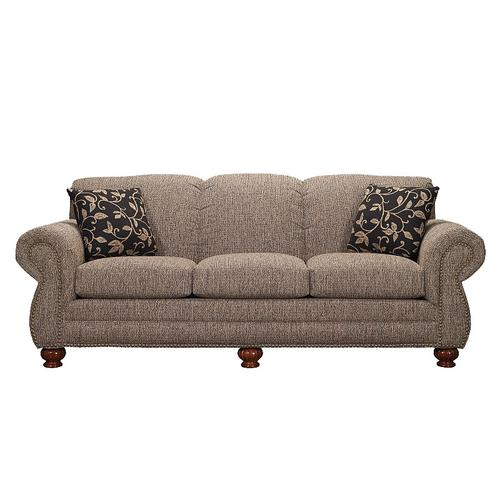 Sofa with Brass Tacks