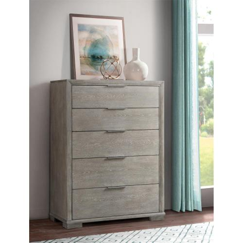 Remington - Five Drawer Chest - Urban Gray Finish