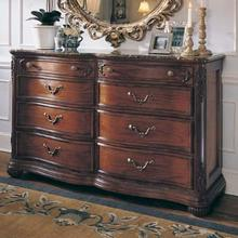 DRESSING CHEST WITH WOOD TOP