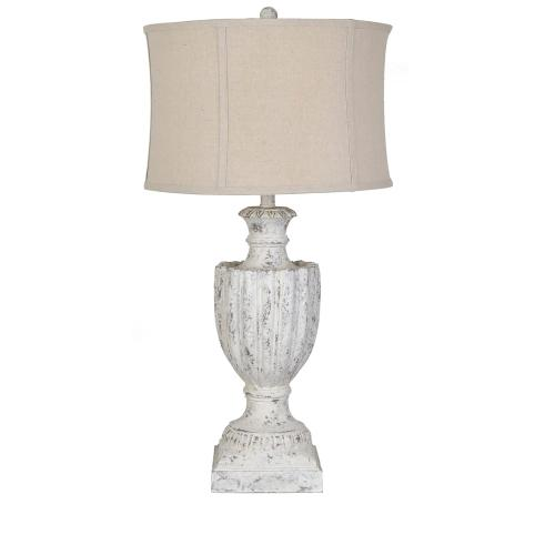 Aged Table Lamp