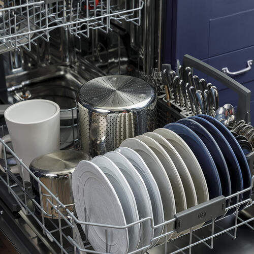 GE Stainless Steel Interior Dishwasher with Hidden Controls Stainless Steel - GDT665SSNSS