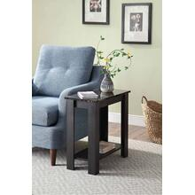 7076 Faux Marble Top Side Table