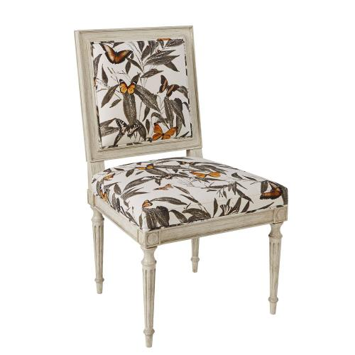 Louis Side Chair Chippendale Back