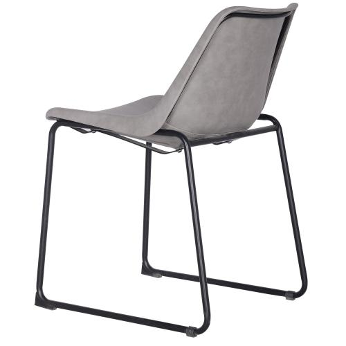 Delta PU ABS Chair, Vintage Mist Gray