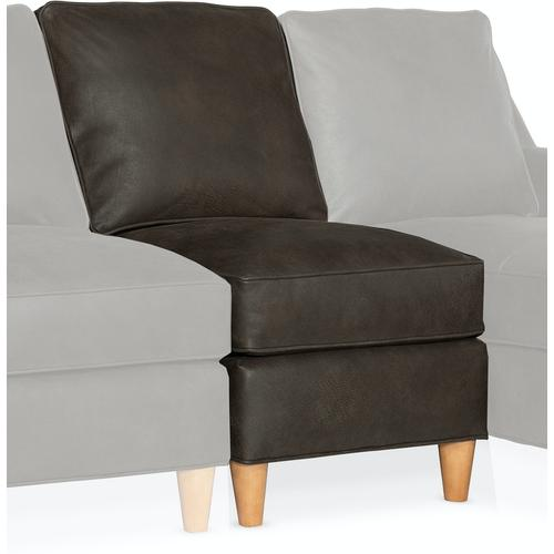 Bradington Young Melville Stationary Armless Chair 8-Way Tie 771-38
