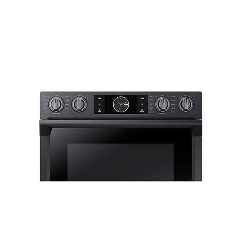 "30"" Flex Duo™ Double Wall Oven in Black Stainless Steel"