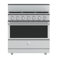 "See Details - 36"" 5-Burner All Gas Range - KRG Series - Steeletto"