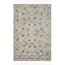 BEA-04 Light Blue / Multi Rug