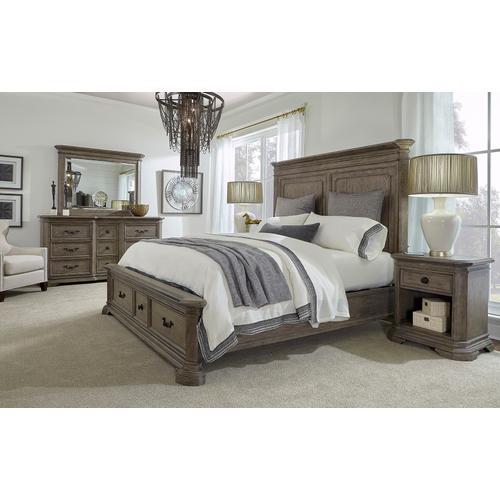 Aspen Furniture - Cal King Rails