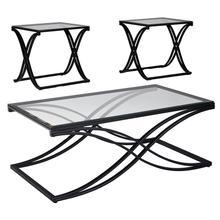 Signature Design by Ashley Jandor 3 Piece Occasional Table Set [FSD-TS3-62CBK-GG]