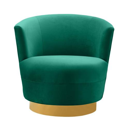 Noah Green Swivel Chair