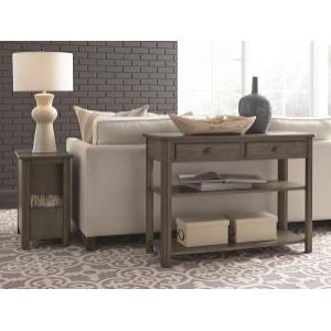 Null Furniture Inc - Sofa/Media Console in Brown Finish        (2114-09,52962)