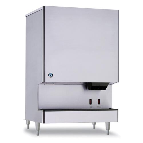 DCM-751BWH-OS, Cubelet Icemaker, Water-cooled, Hands Free Dispenser, Built in Storage Bin