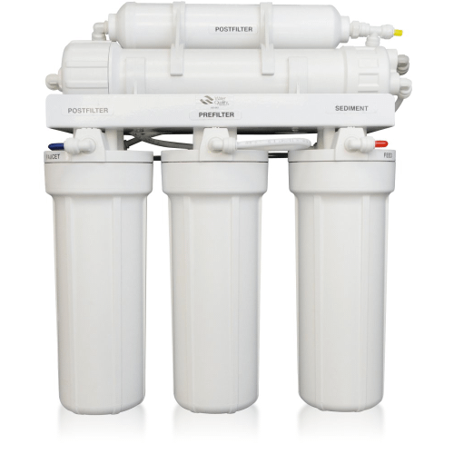 Environmental Water Systems - 5-Stage Reverse Osmosis System for Treating Difficult or Problematic Well Water with TDS in Excess of 1,000 ppm or mg/l